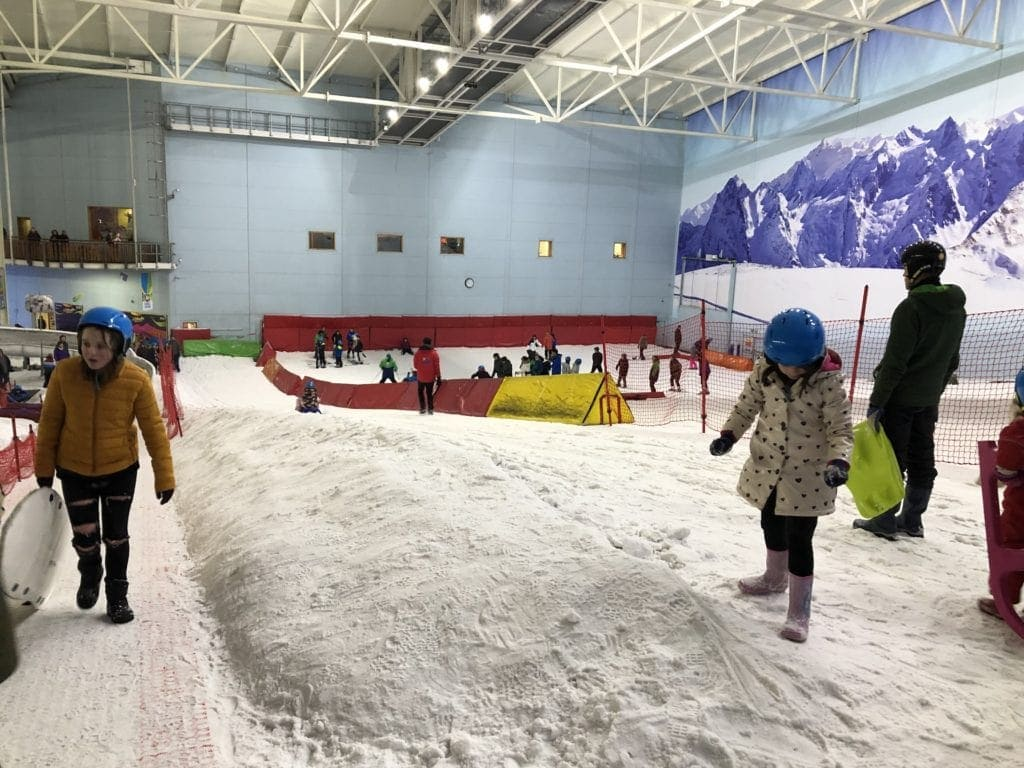 Santa at the Chill Factore in Manchester