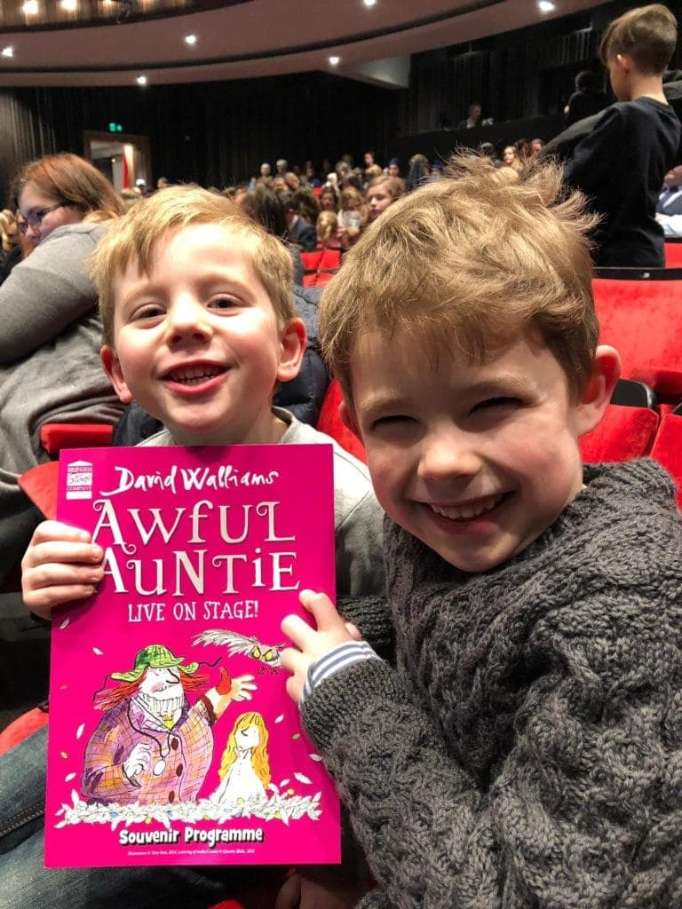 David Walliams' 'Awful Auntie' at The Bloomsbury Theatre