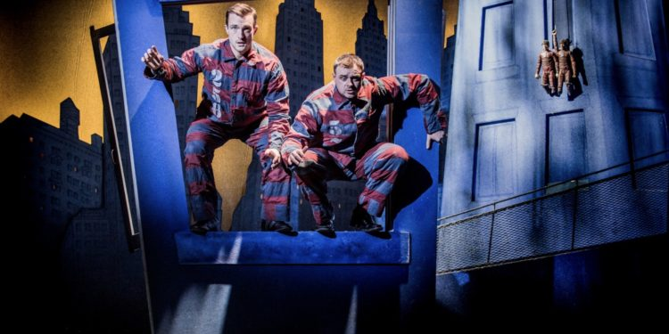 The Comedy About A Bank Robbery at the Criterion Theatre