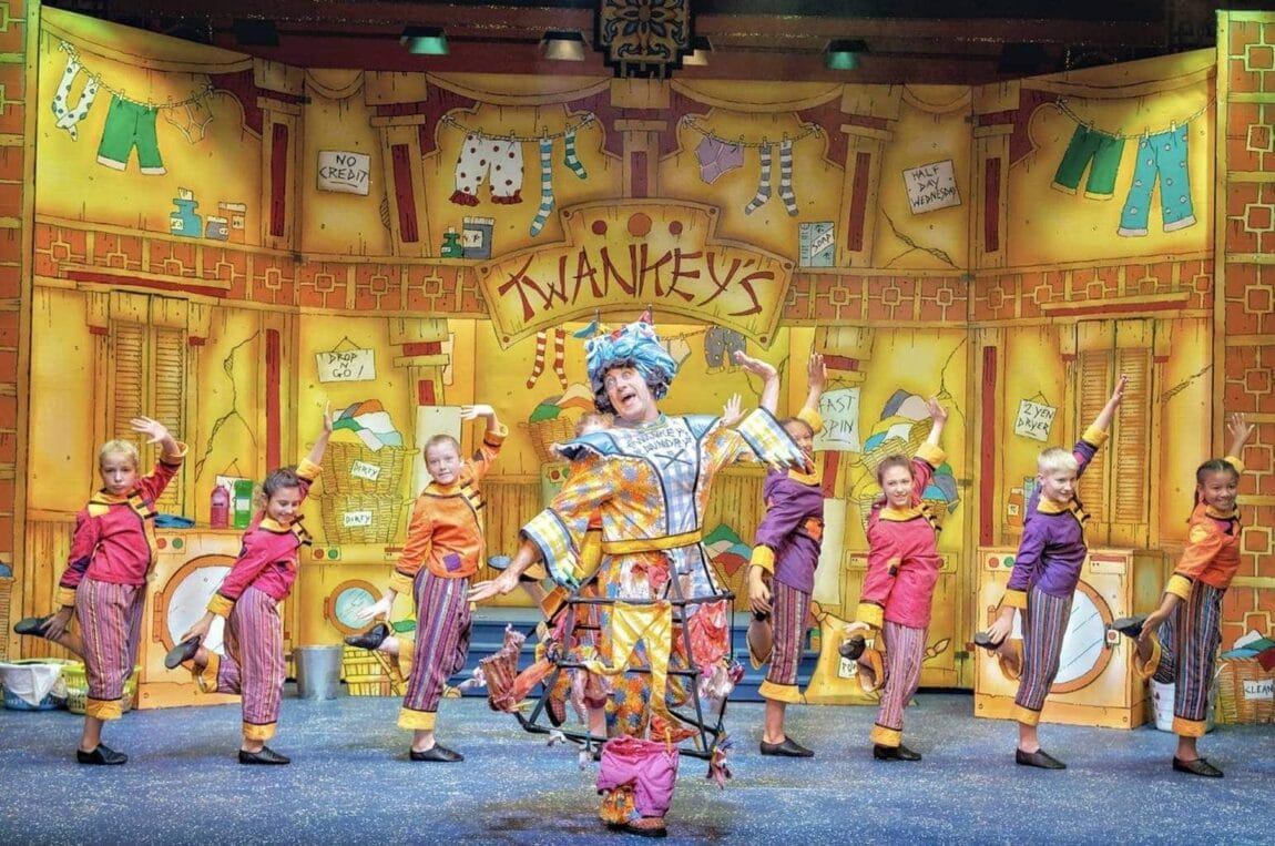 Aladdin at Lawrence Batley Theatre, Huddersfield