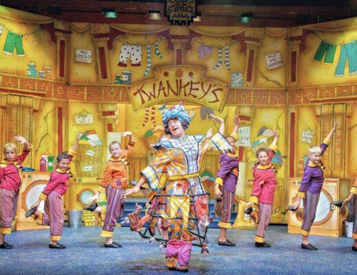 Aladdin at Lawrence Batley Theatre, Huddersfield