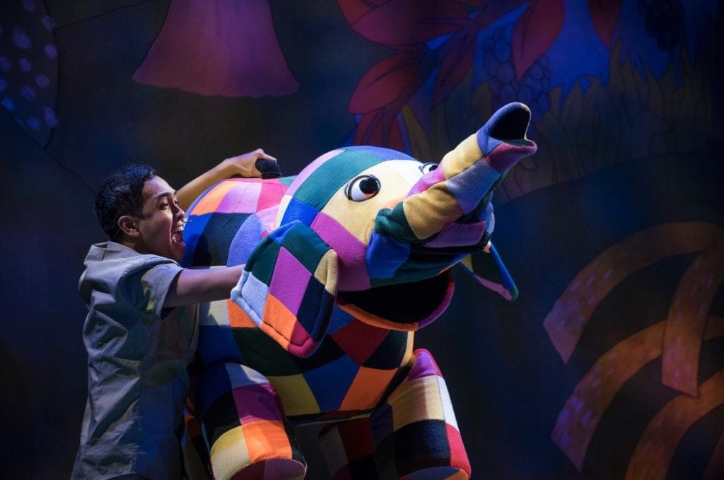 Review | Elmer the Patchwork Elephant at The Lowry