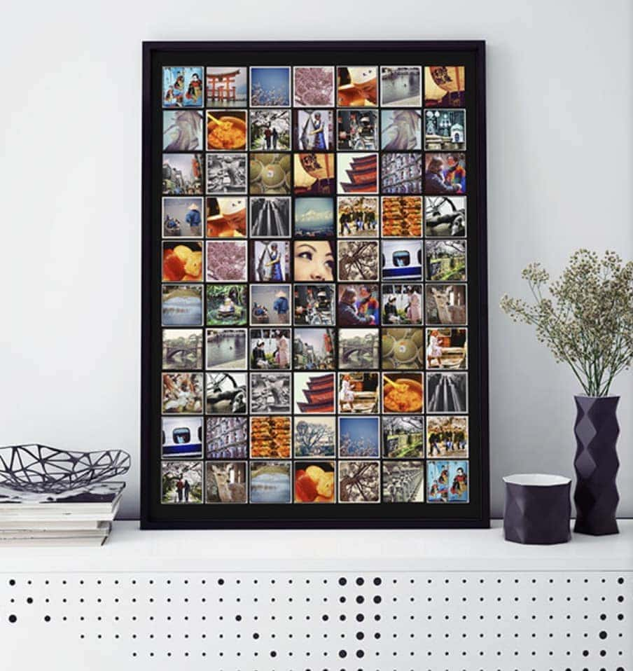 Our signature product, the PosterCandy photo poster. A collage of your favourite moments arranged on a modern grid will brighten your walls both at home and at work.