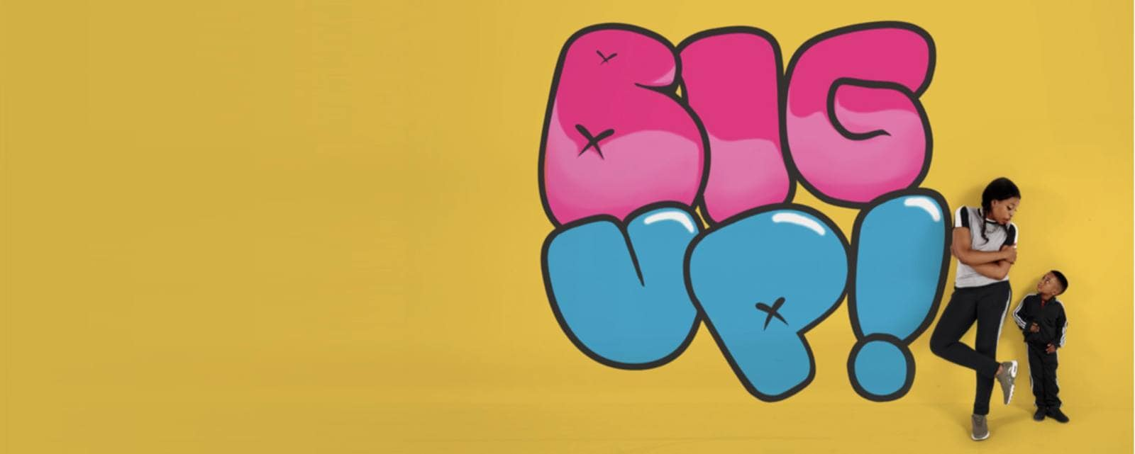 Big Up! | a Theatre Show for 3-6 year olds at Unity Theatre, Liverpool this February Half Term