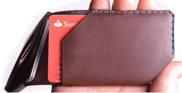 Most wallets simply are not designed for today's card carrying society, but Wingback have come up with a very clever, yet slim and stylish card wallet that will hold up to 10 cards in two easy access slots, whilst also allowing contactless cards to be used without removing them. For those that still want to carry a small amount of cash there is room for notes under the unique wing detail. Each Wingback wallet is handmade to order in their London studio using a single piece of hand-picked tanned but untreated Italian leather. By combining the handmade process with a choice of leather colour, fastener and stitching the result is each wallet being truly unique, with it retaining the natural grain and individual markings of the leather. The Wingback Card Wallet comes in a choice of five natural colours and you can select one of seven thread colours and either machined brass or stainless steel for the fastener cap to create the perfect bespoke wallet. The Wingback craftsmen and women can personalise each wallet with up to 20 laser etched characters on the front and up to 35 on the inside, making it the perfect personalised gift. If you fancy having a go yourself then the card wallet is also available in a DIY kit form.
