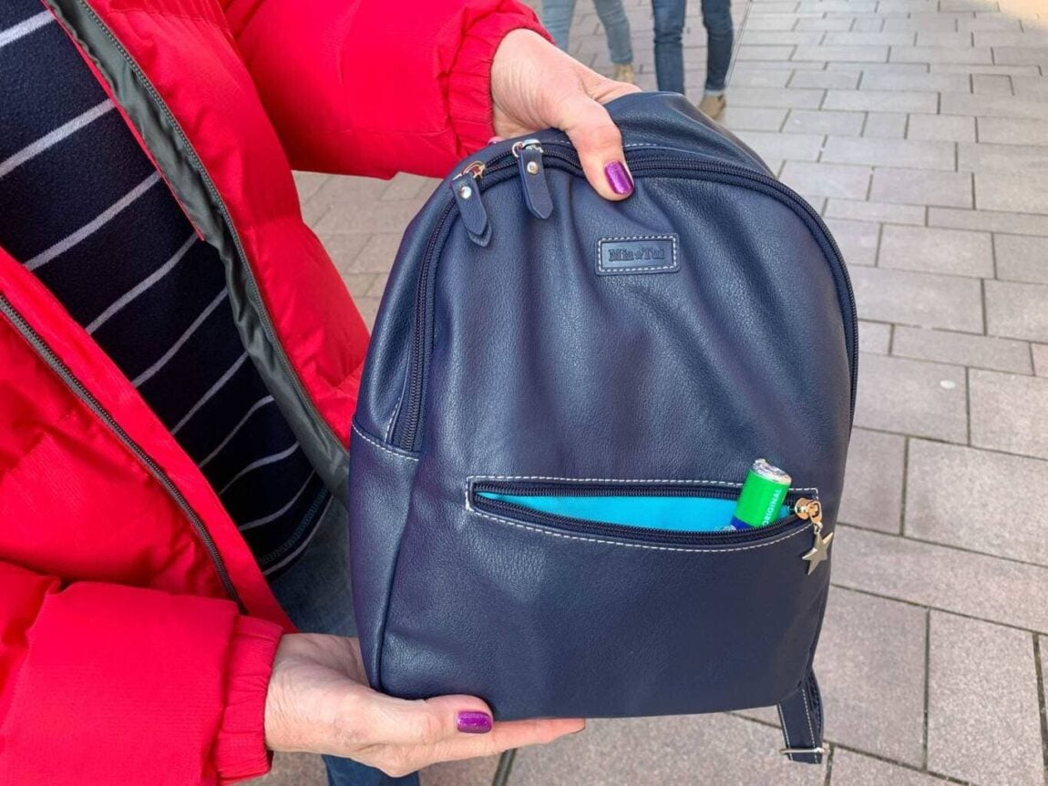 Review   Mia Tui Jess Backpack (with water-bottle holder)