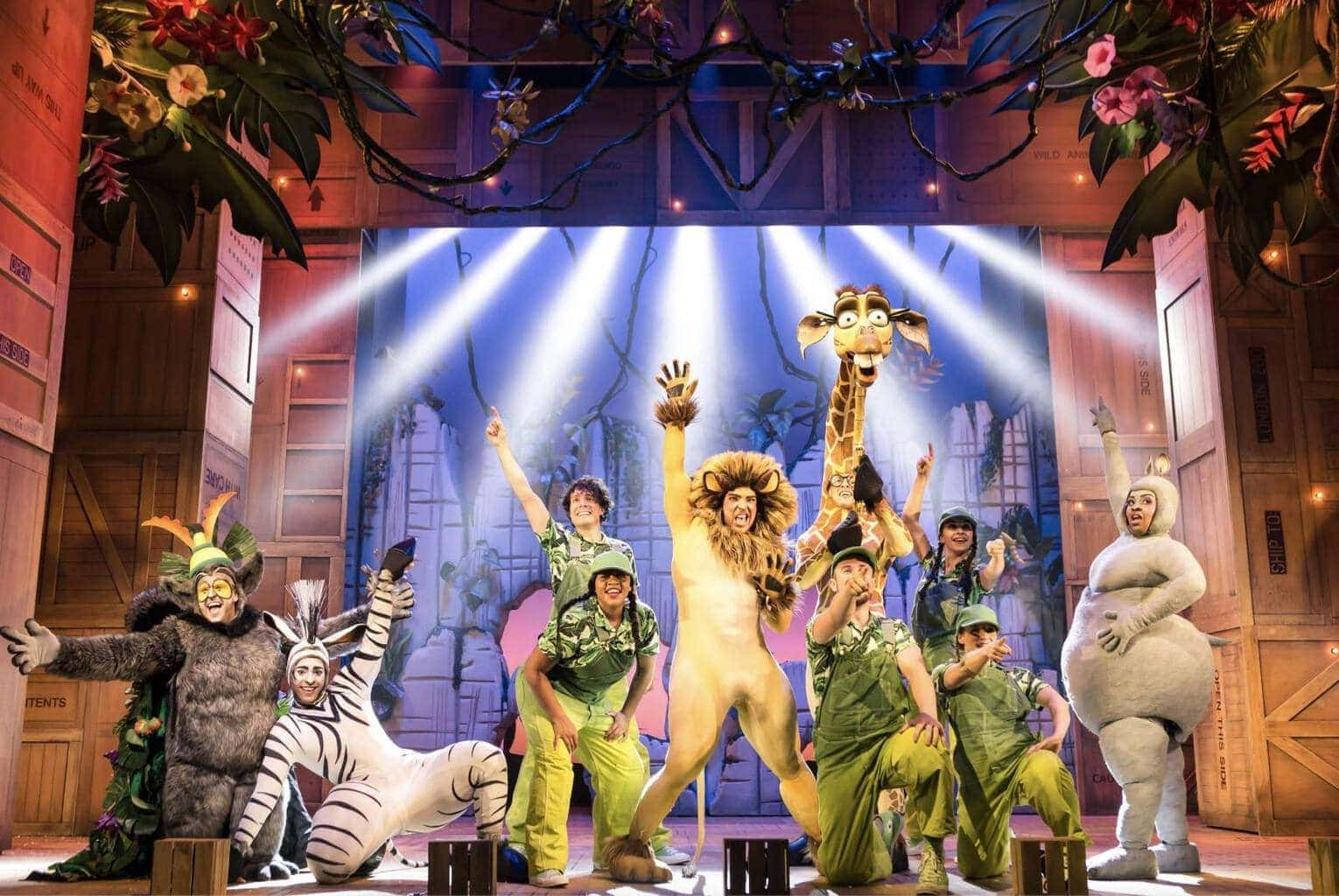 Review: Madagascar the Musical at Liverpool Empire   Really Wanted to Love it but…