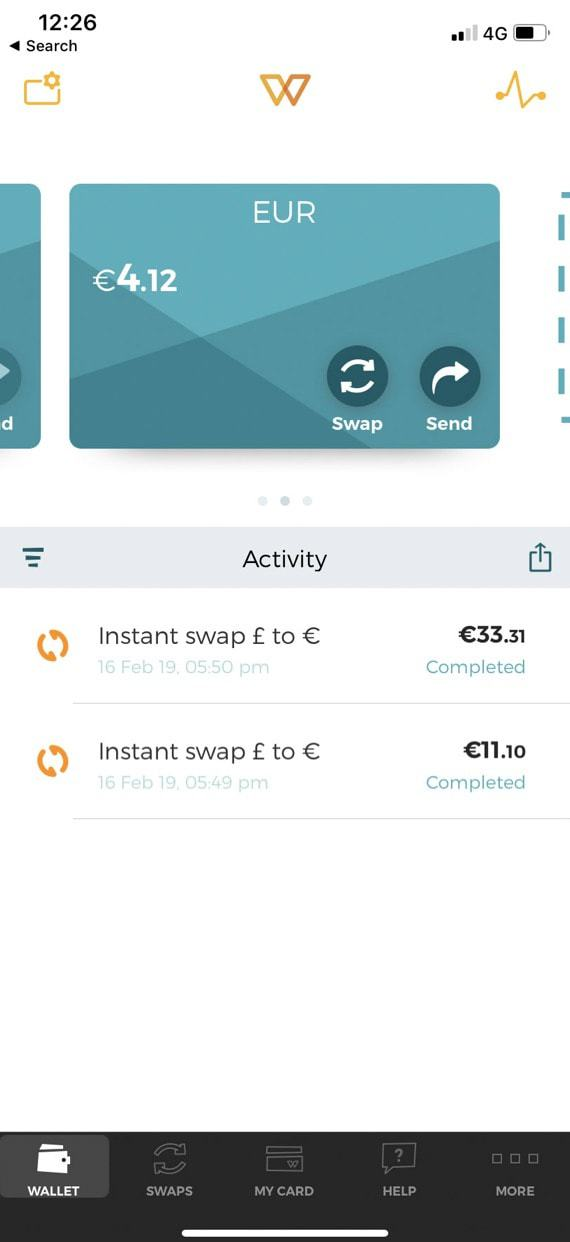 WeSwap review | Are Prepaid Travel Cards worth it?