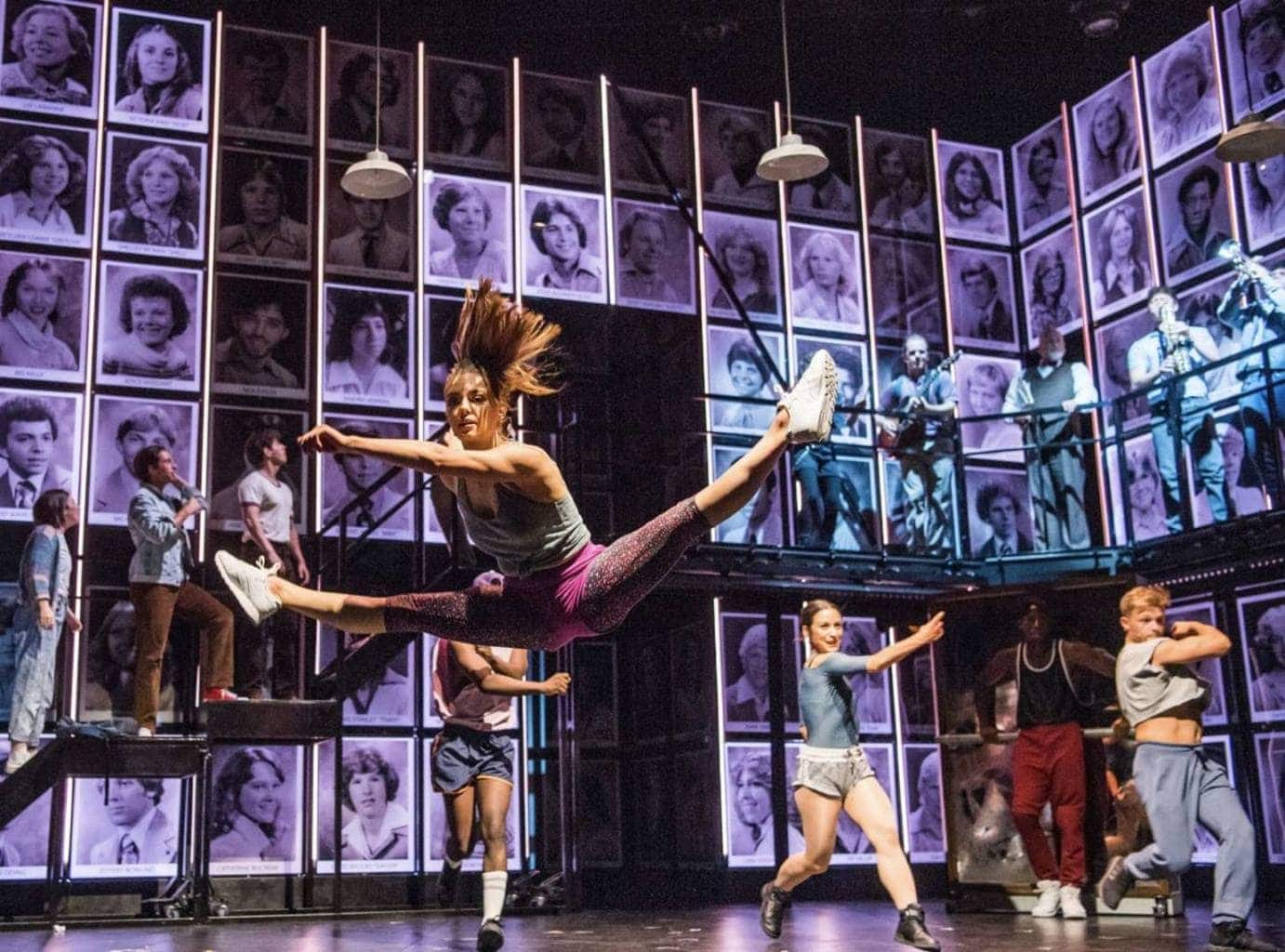 Review of Fame The Musical at the Empire
