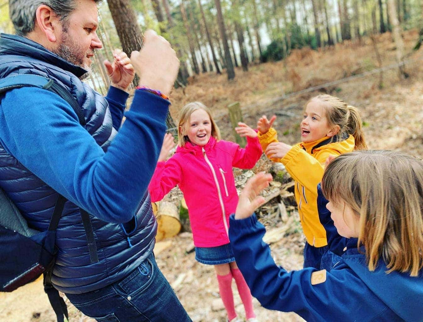 Holmsley Campsite in the New Forest with Camping in the Forest