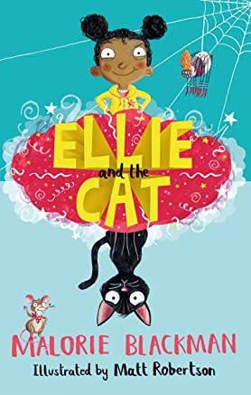 Ellie and The Cat by Malorie Blackman and Matt Robertson (Barrington Stoke)