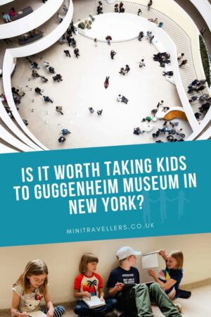 Is it worth taking kids to Guggenheim Museum in New York?