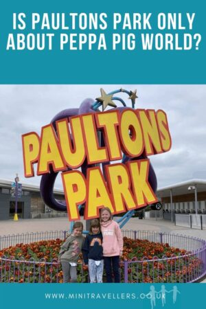 Is Paultons Park only about Peppa Pig World?