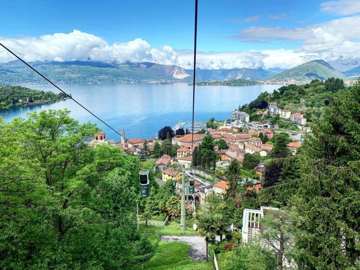 Lake Maggiore Cable Cars in Laveno Mombello - Review of Funivie del Lago Maggiore