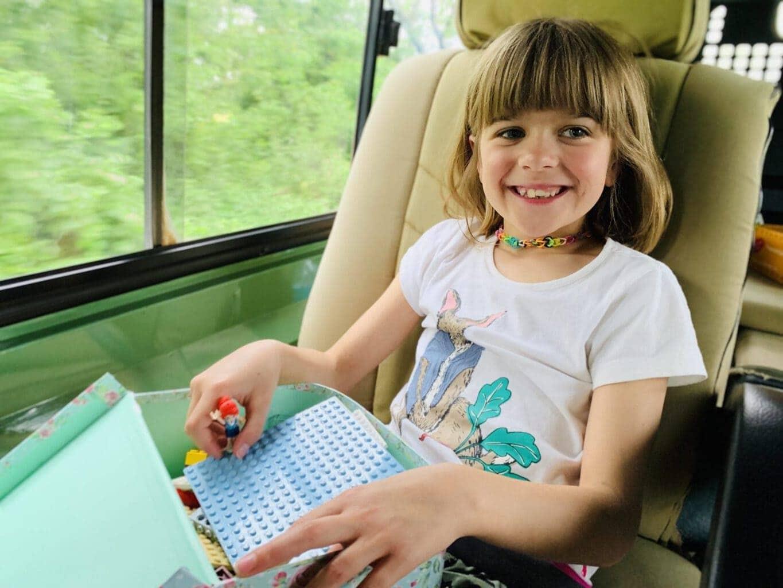 Lego in a portable case