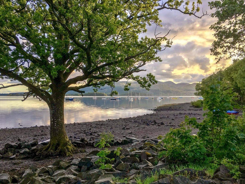 Millarochy Bay Loch Lomond Camping and Caravanning Club Site