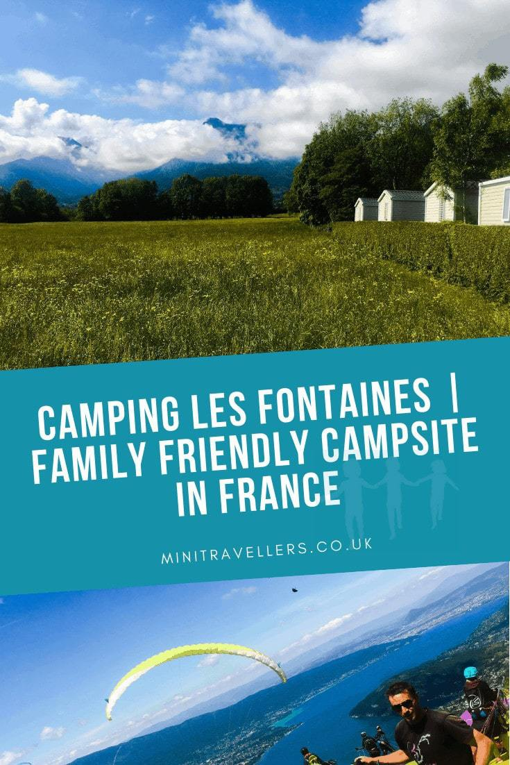 Camping Les Fontaines | Family Friendly Campsite in France