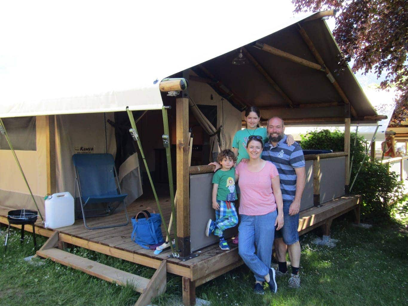 A Family Holiday in the French Mountains with Camping La Ravoire