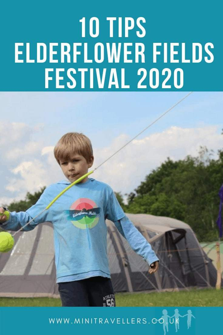 Tips for Elderflower Fields Festival 2020