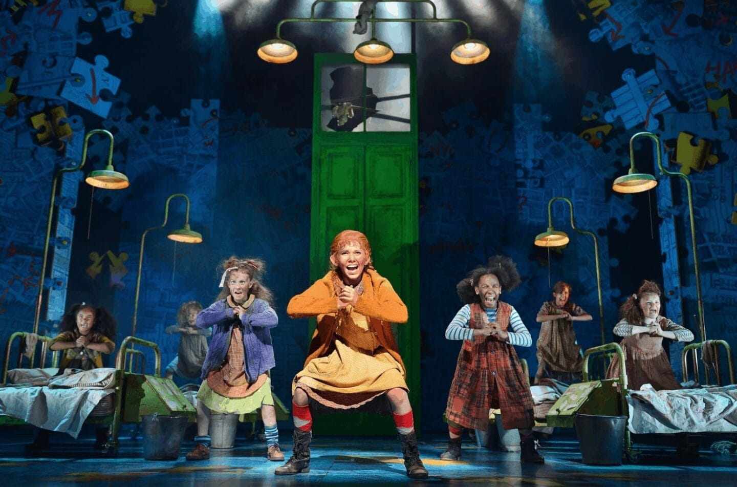 Review Annie the Musical at Liverpool Empire