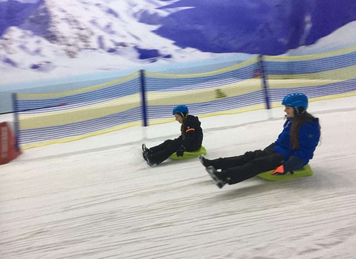 Re-launched Snow Park at Manchester's Chill Factore