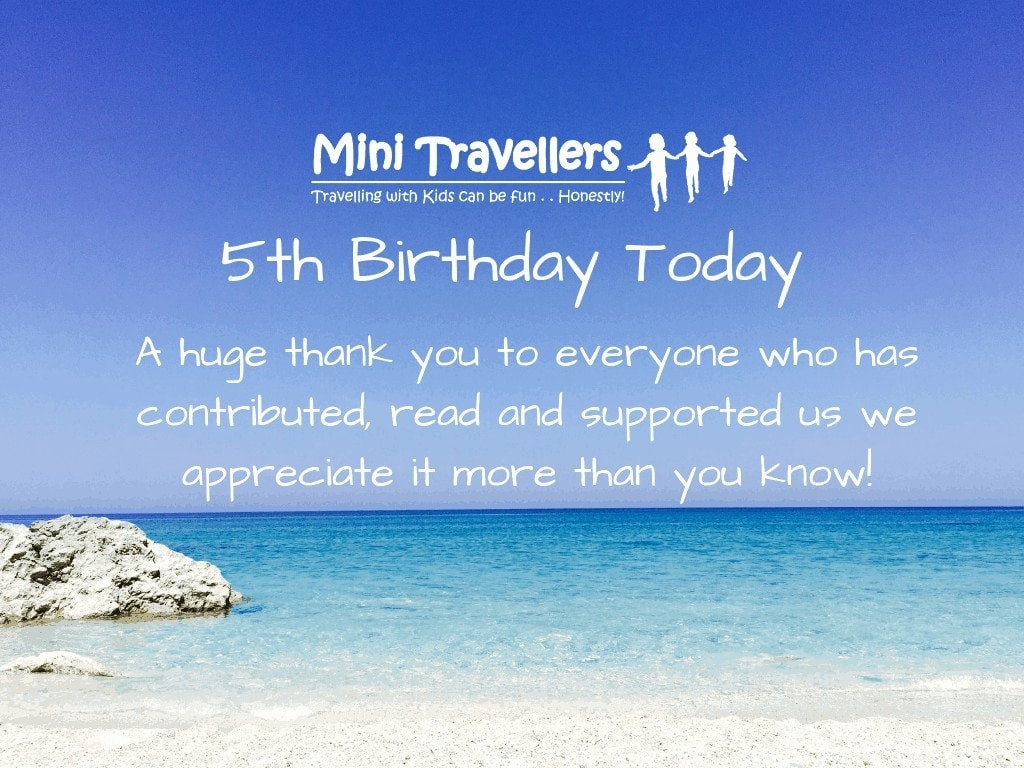 Mini Travellers is 5 today