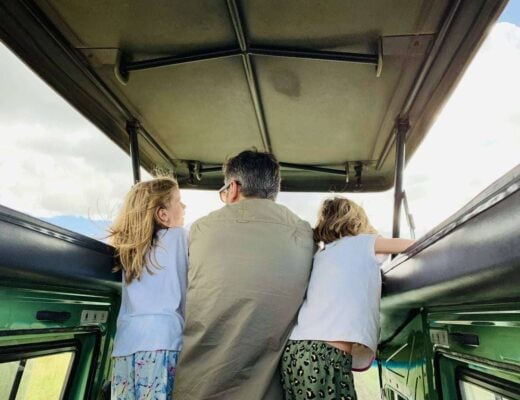 How to cope with long drives on Safari with Kids