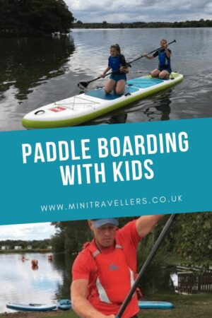 Paddle Boarding with Kids