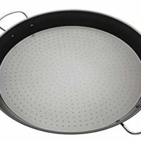KitchenCraft World of Flavours Non Stick Paella Pan, Carbon Steel, 46 cm