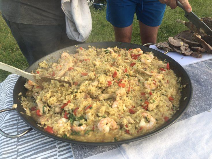Camping Paella