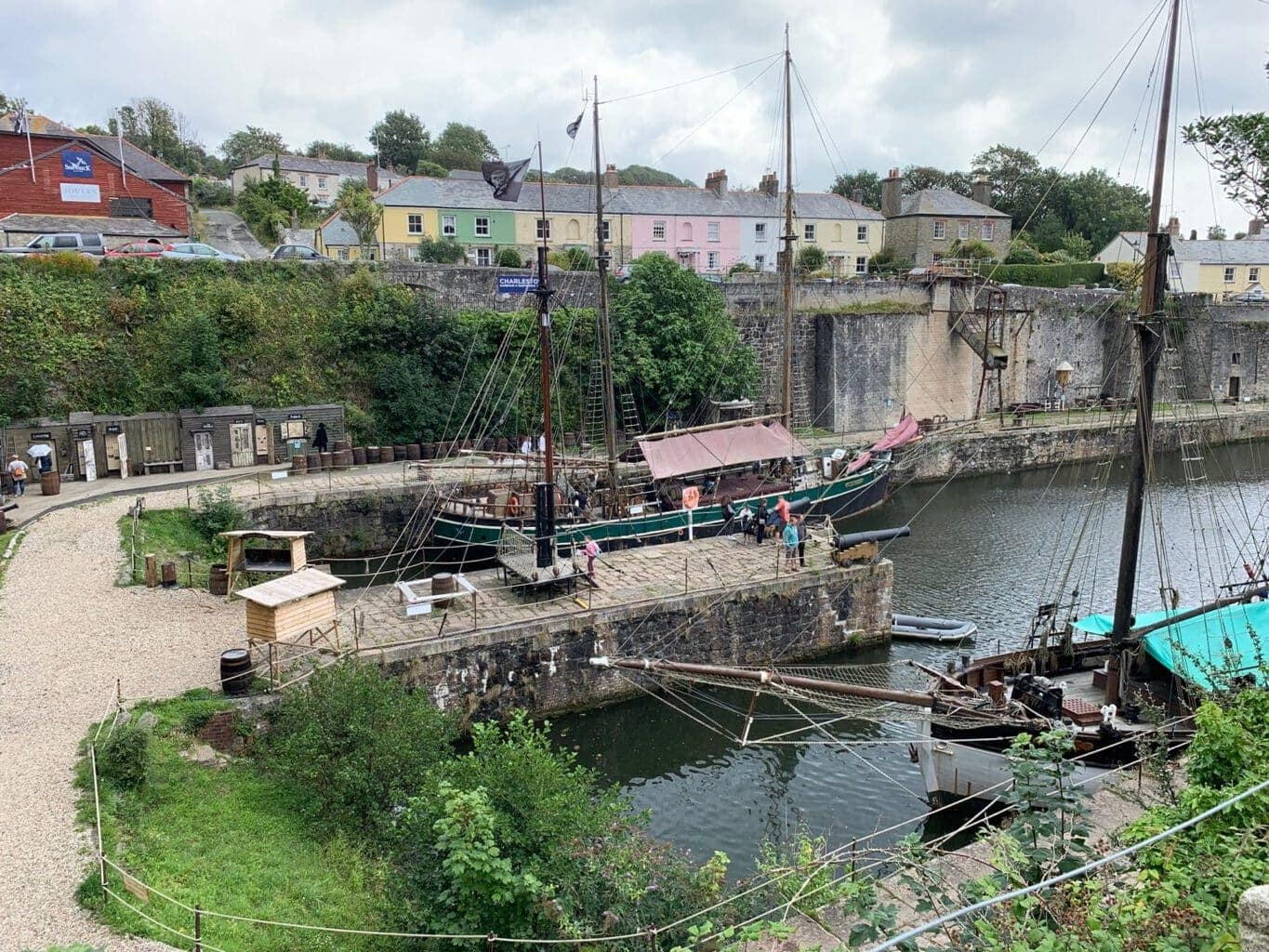 Charlestown Harbour and Shipwreck Museum, St Austell Cornwall