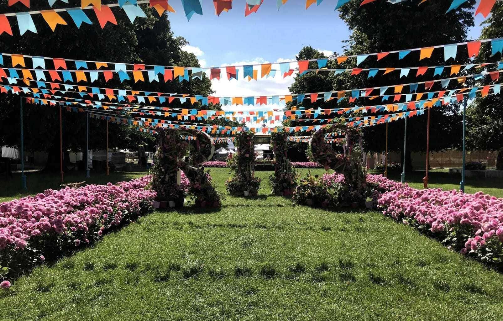 Hampton Court Palace Garden Festival 2019