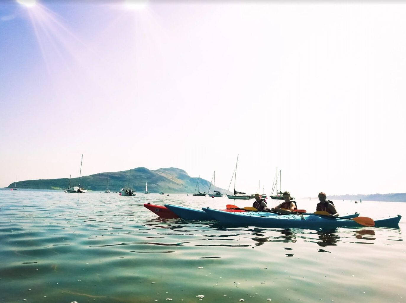 How easy is Sea Kayaking for a family? |Sea Kayaking in Arran