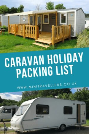 Caravan Holiday Packing List
