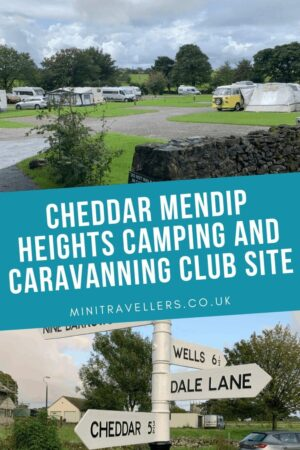 Cheddar Mendip Heights Camping and Caravanning Club Site