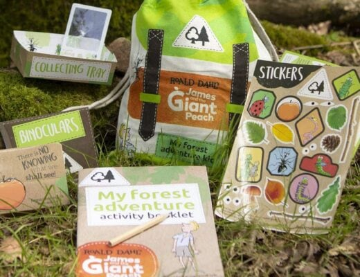 Forestry England - James and the Giant Peach Forest Adventure Kits!