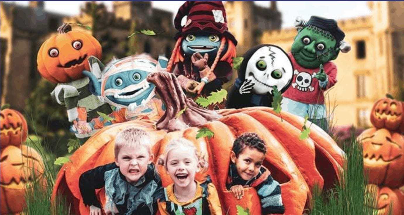 Have you started planning your half term days out yet? With October half term being the week before Halloween for many schools it's the perfect opportunity to have some spooky fun at your favourite theme park.