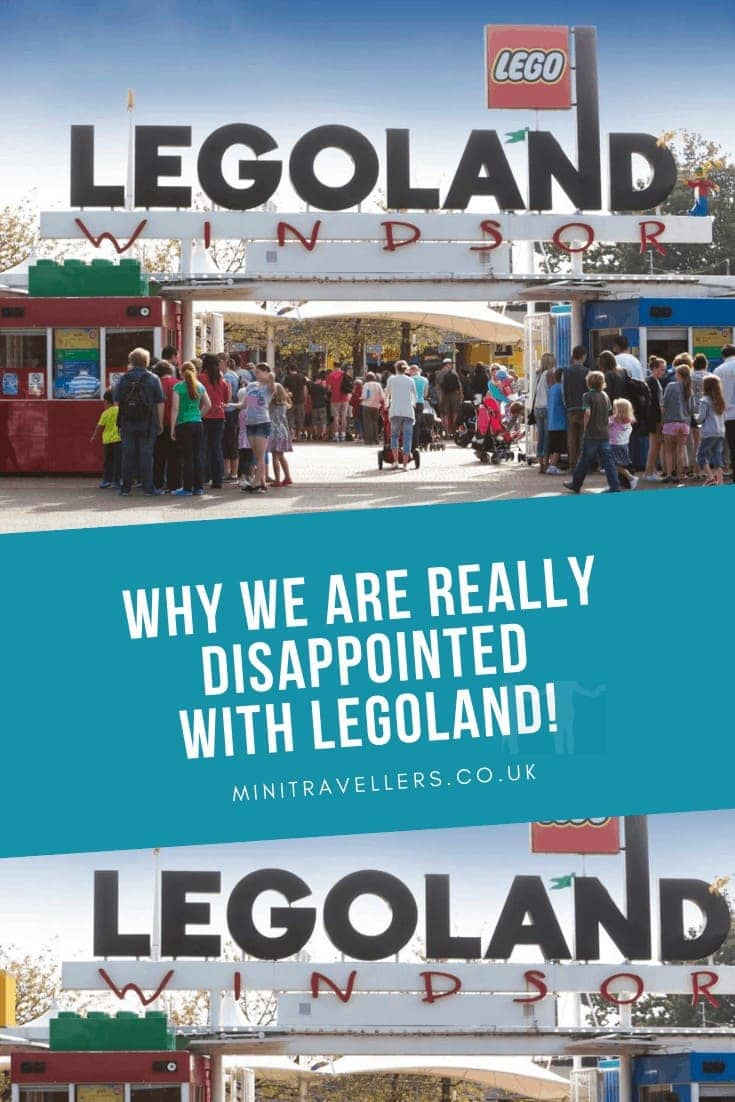 Dear Legoland, we are really disappointed!