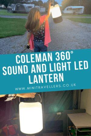 Coleman 360° Sound and Light LED Lantern