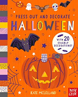 Press Out and Decorate: Halloween by Kate McLelland (Nosy Crow)