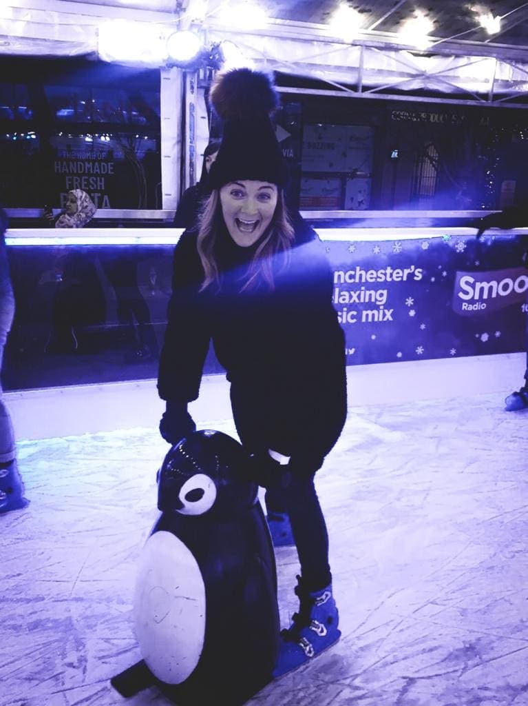 Is the Ice Skating rink at the Manchester Ice Village good fun?