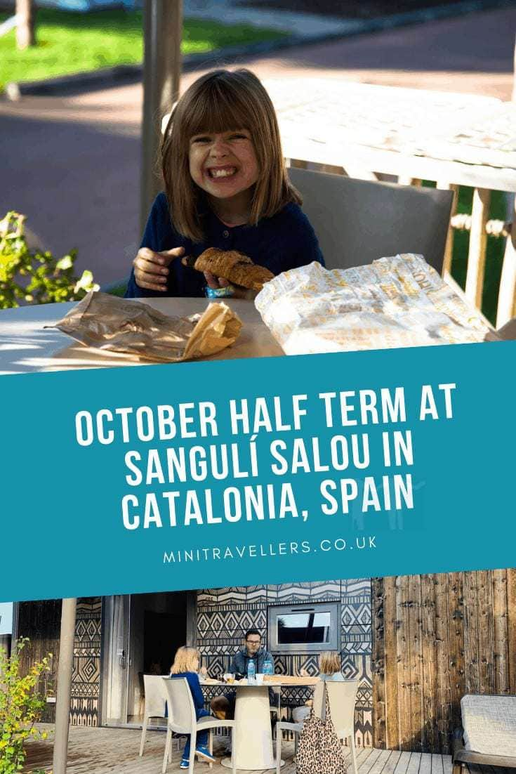 At half term in October 2019 we stayed for 3 nights at Sangulí Salou in Catalonia, Spain. So what did we think?