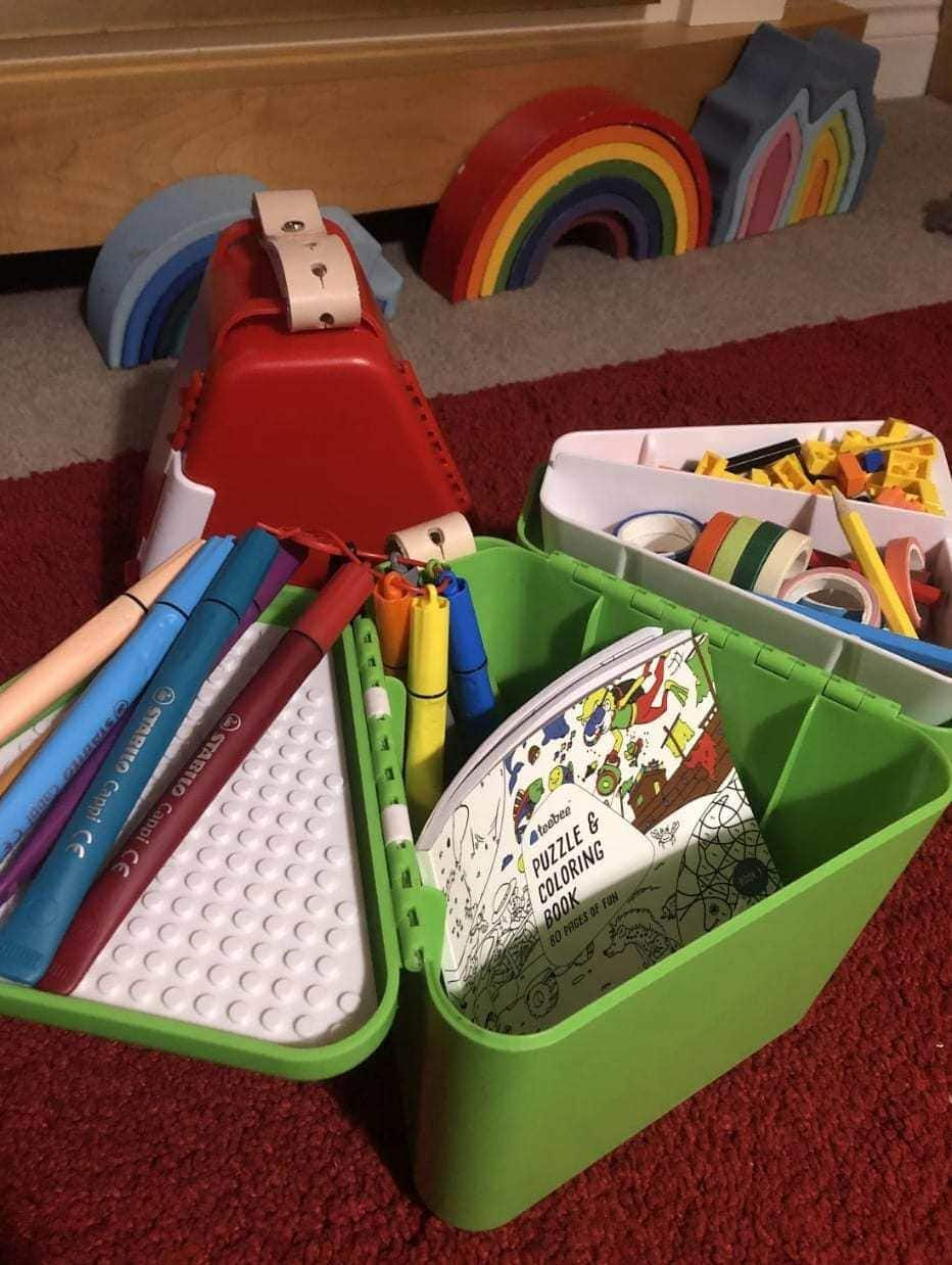 Review | Teebee - The Travel Toy Box