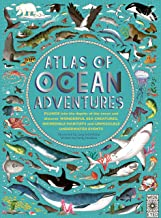 Atlas of Ocean Adventures by Emily Hawkins illustrated by Lucy Letherland (Wide Eyed Editions)