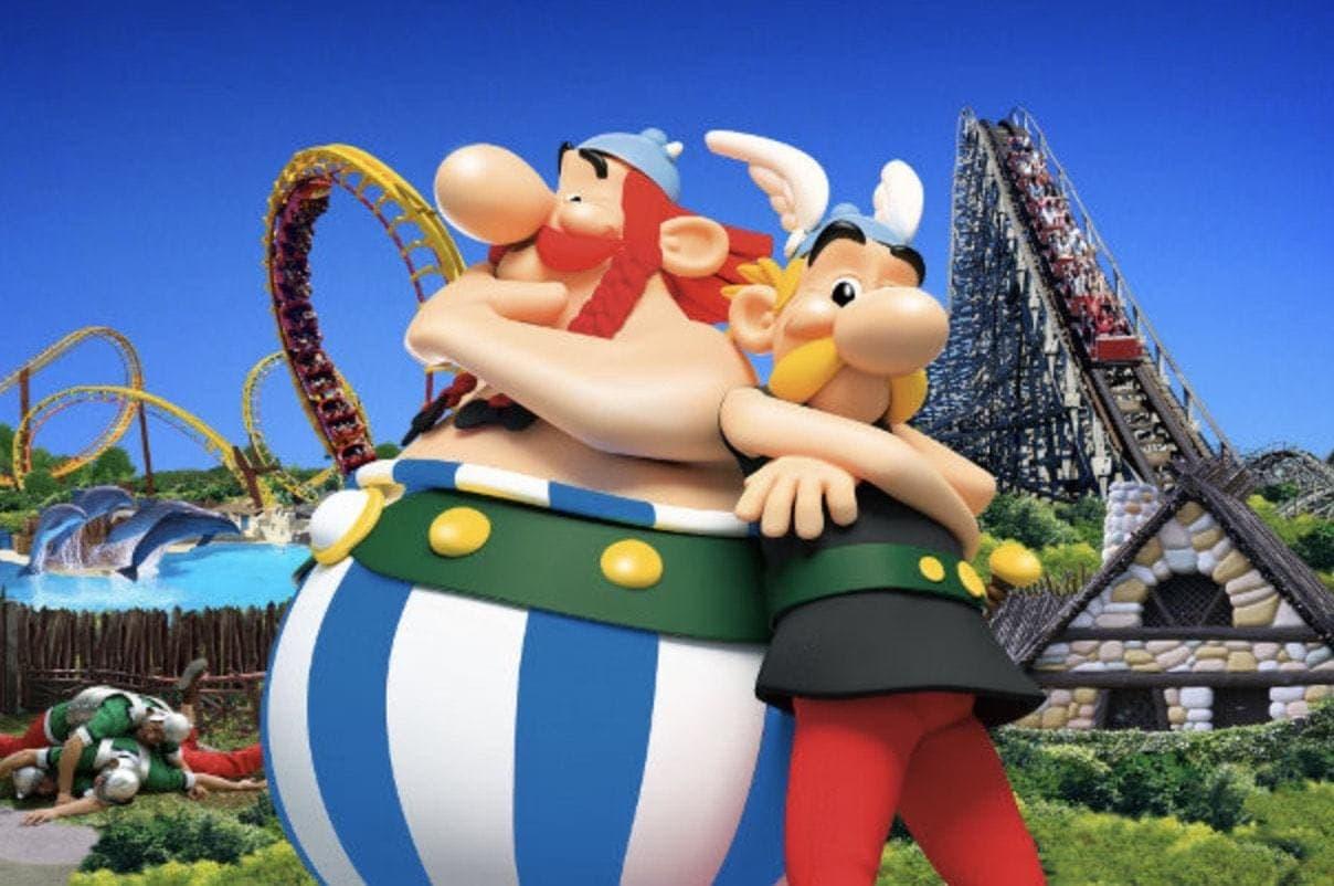 Parc Asterix - France's second biggest theme park after Disneyland Paris