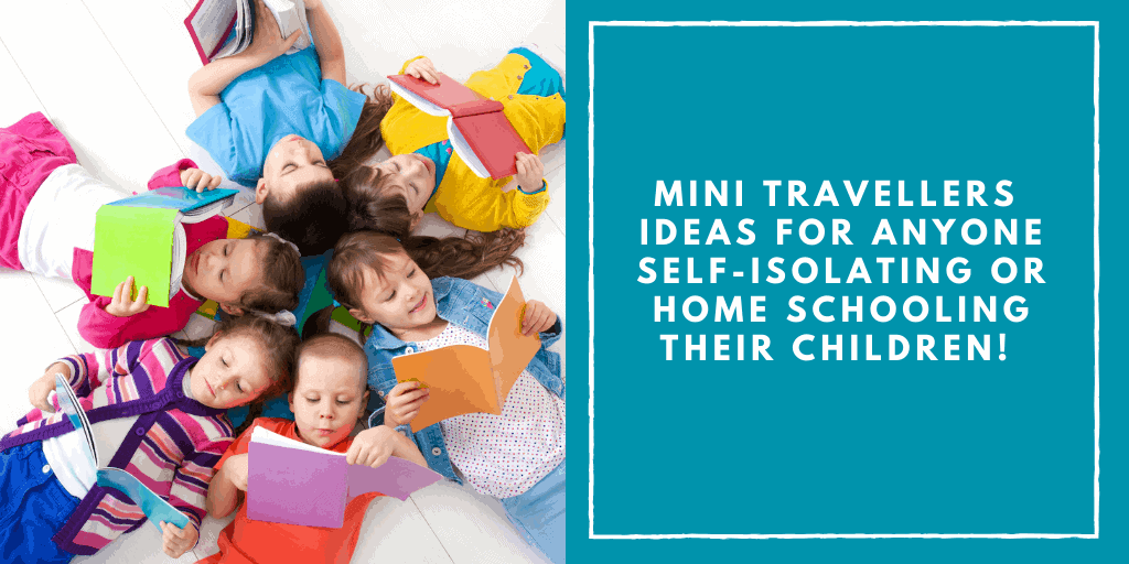 Ideas for anyone self-isolating or home schooling their children!