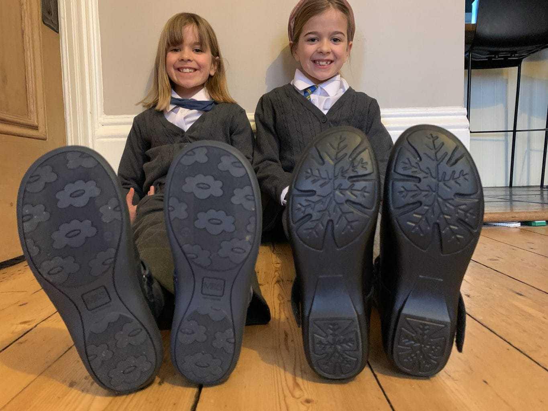 Treads School Shoes - Durable Girls School Shoes
