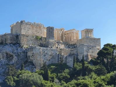 The Acropolis and the Parthenon