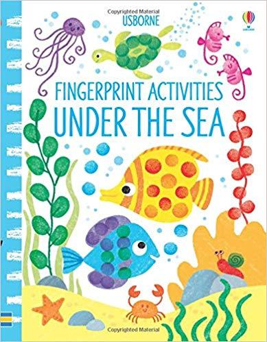 Fingerprint Activities Under The Sea by Candice Whatmore (Usborne)