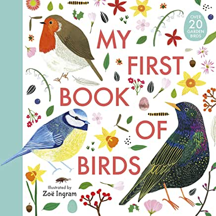 My First Book of Birds illustrated by Zoe Ingram (Walker Books)